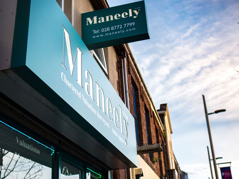 Maneely & Co Ltd Office Front