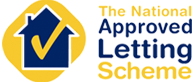 The National Approved Letting Scheme Logo